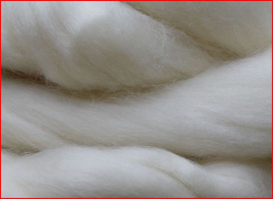 Bluefaced Leicester Lont Wit Superwash 100 gram