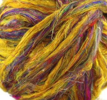 "Sari Silk ""Sunshine"""